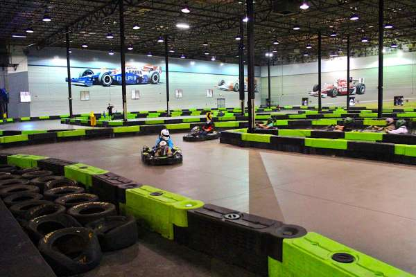 Indoor Carting