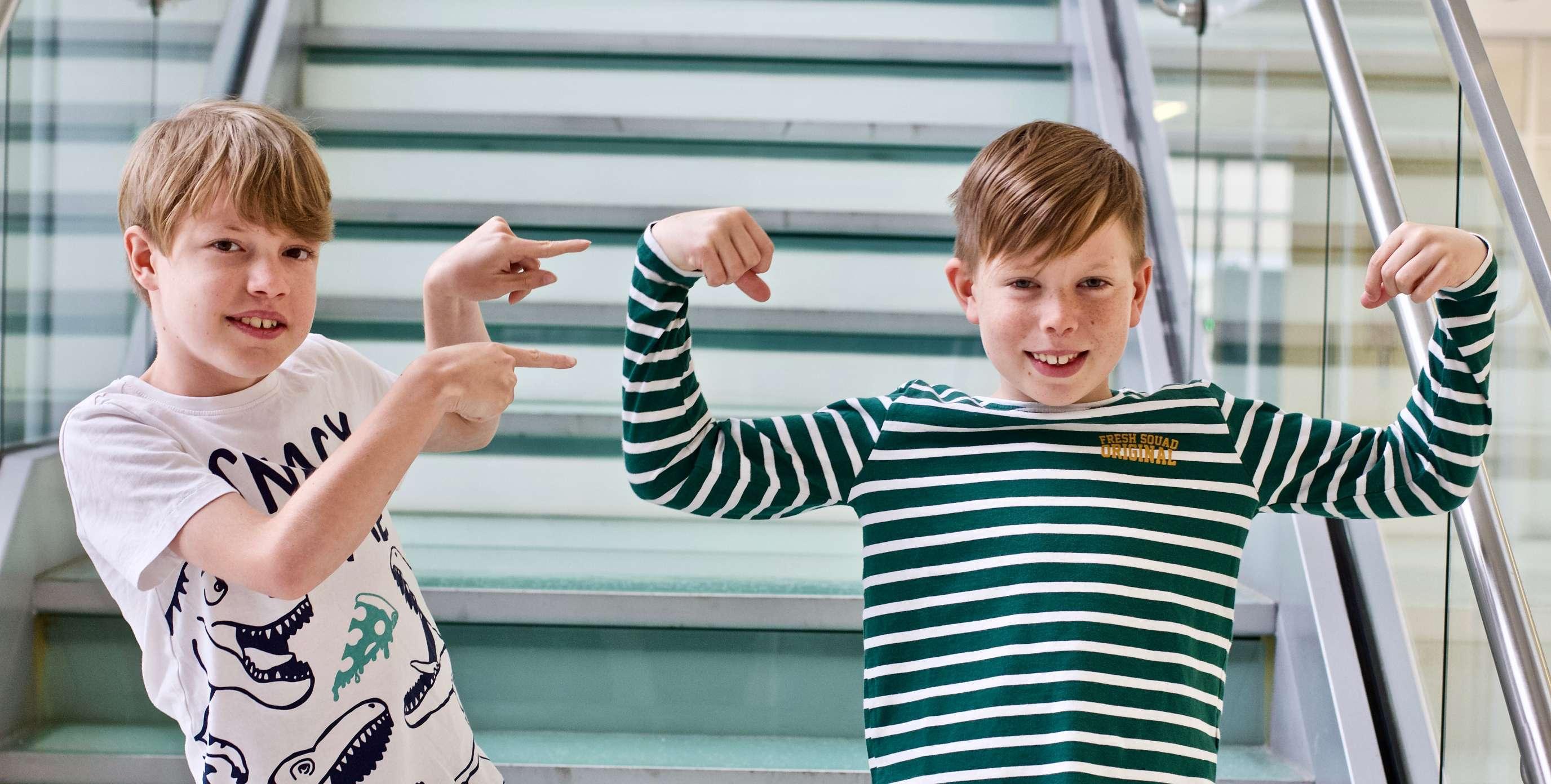Misko and Jonas